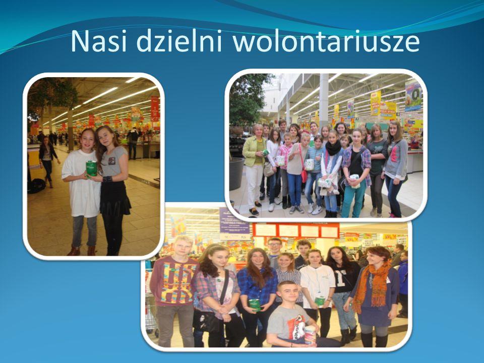 Nasi dzielni wolontariusze