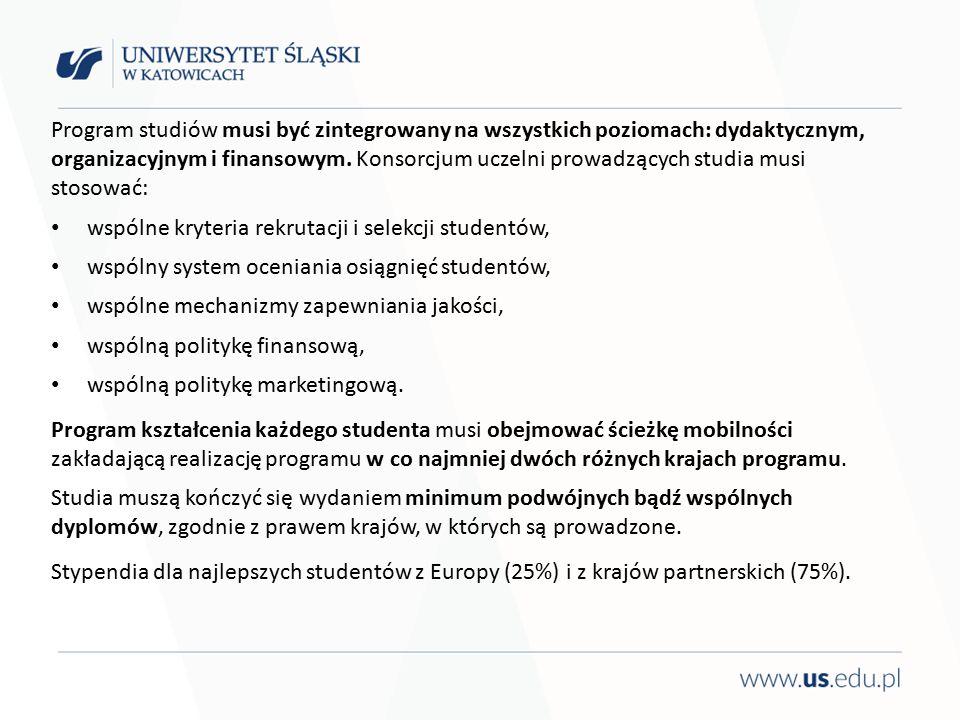 Program studiów musi być zintegrowany na wszystkich poziomach: dydaktycznym, organizacyjnym i finansowym.