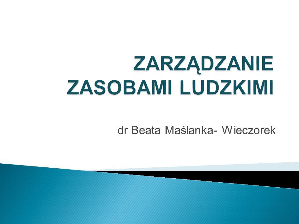 dr Beata Maślanka- Wieczorek