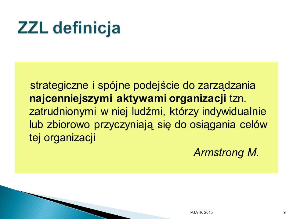 strategiczne i spójne podejście do zarządzania najcenniejszymi aktywami organizacji tzn.