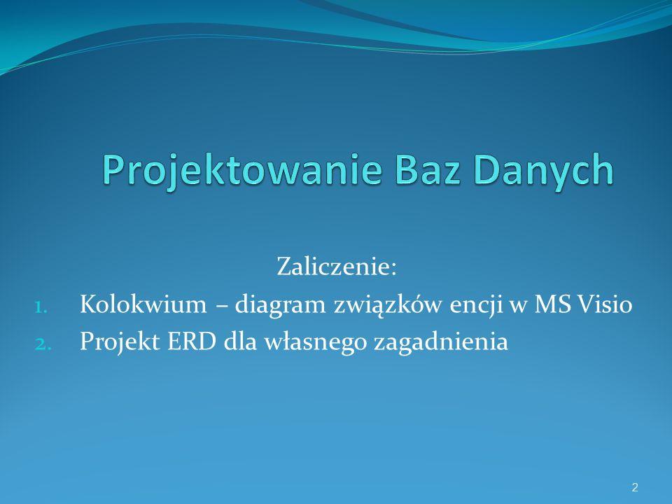 Wykład I Relacyjna baza danych i system zarządzania bazą danych opr.