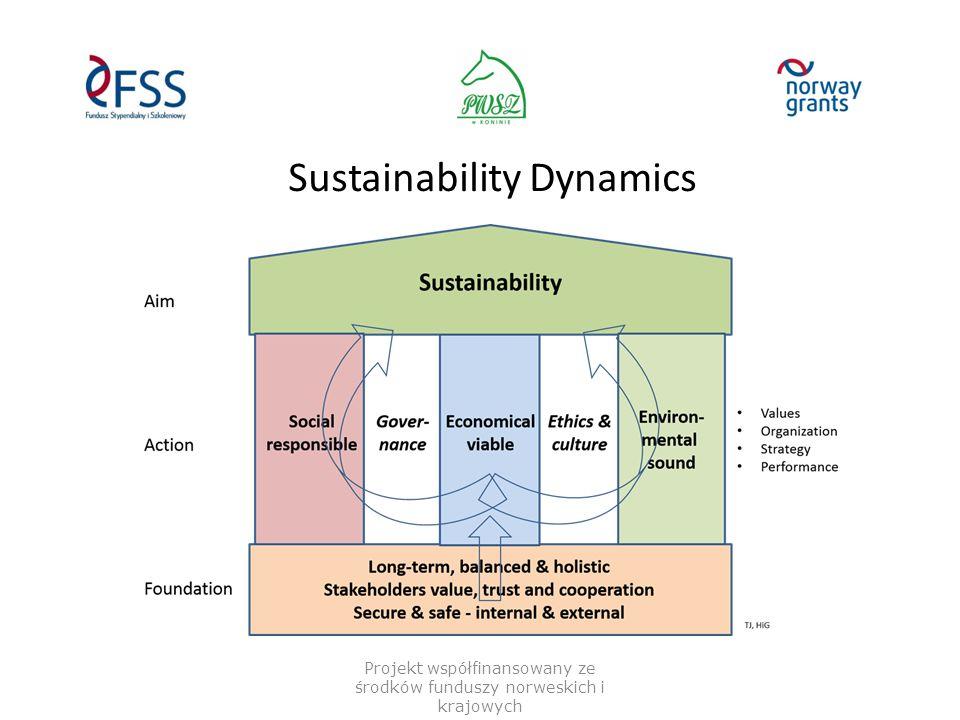 Sustainability Dynamics Projekt współfinansowany ze środków funduszy norweskich i krajowych