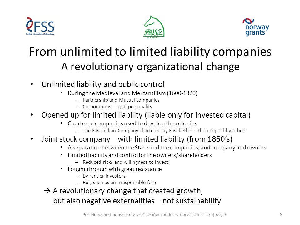 A good start for Storebrand's Sustainability Fond (SPP) Projekt współfinansowany ze środków funduszy norweskich i krajowych17