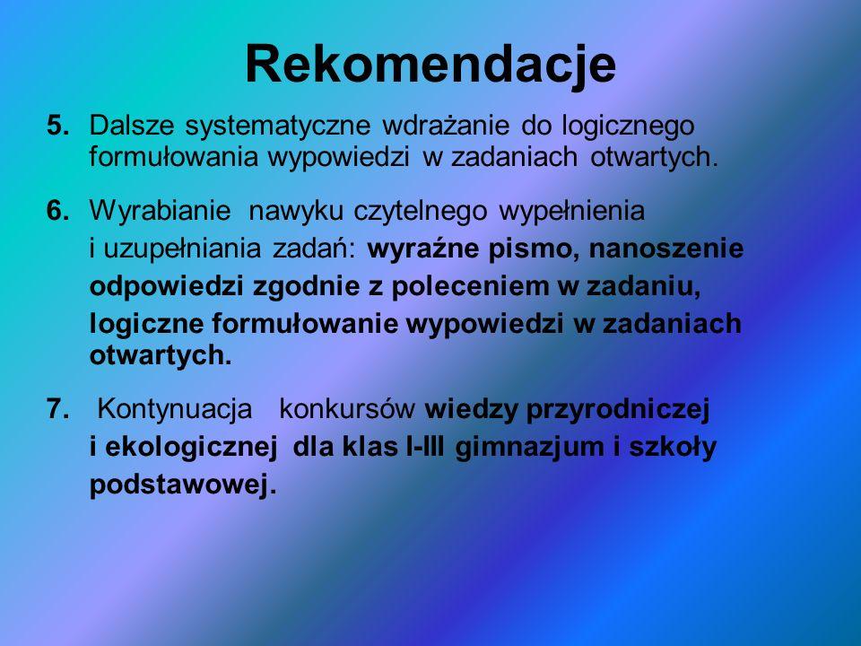 Rekomendacje 5.