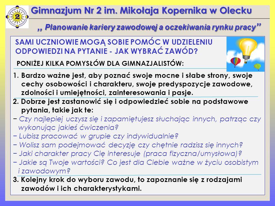 Gimnazjum Nr 2 im.Mikołaja Kopernika w Olecku 4.