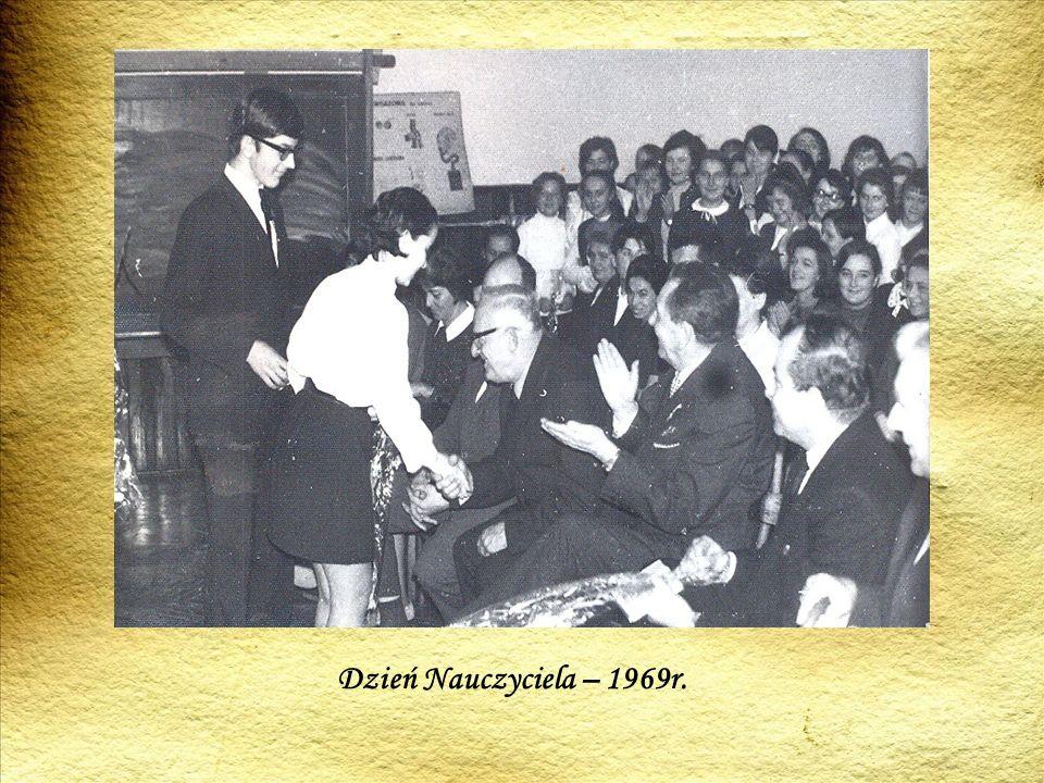 Dzień Nauczyciela – 1969r.