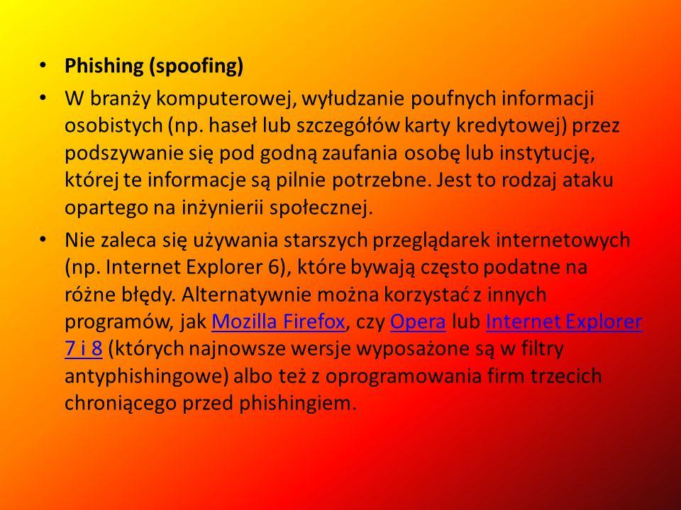 Rootkit Narzędzie pomocne we włamaniach do systemów informatycznych.