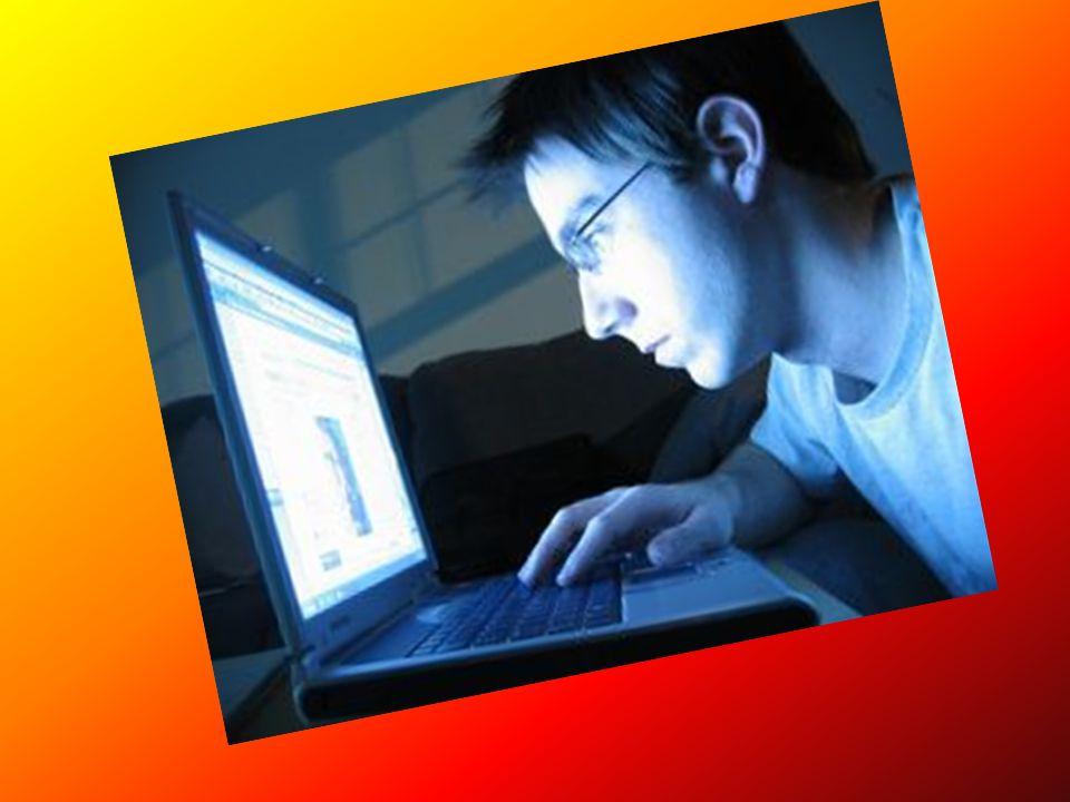 Skutki niekontrolowanego używania komputera i internetu Zanik więzi rodzinnych, Zanik więzi rówieśniczych, Choroby (bóle kręgosłupa, stawów, problemy ze wzrokiem), Przemoc fizyczna, słowna, Rozwój popędów seksualnych, Zaniedbywanie obowiązków, Popadanie w uzależnienia (największe zagrożenie), Tendencja do bycia obsesyjnym, Zobojętnienie na widok scen przemocy, Naśladowanie scen przemocy, Zaburzenia funkcji poznawczych, Ucieczka w świat wirtualny, Patologie społeczne – agresja, dostęp do grup patologicznych, Syndrom przymusu bycia online – ponad 70 godzin tygodniowo, Technohipnoza –w czasie bajek, filmów, ASC – zmienne stany świadomości (jak po alkoholu), Uzależnienia od programów stosujących psychomanipulację, Padaczka ekranowa