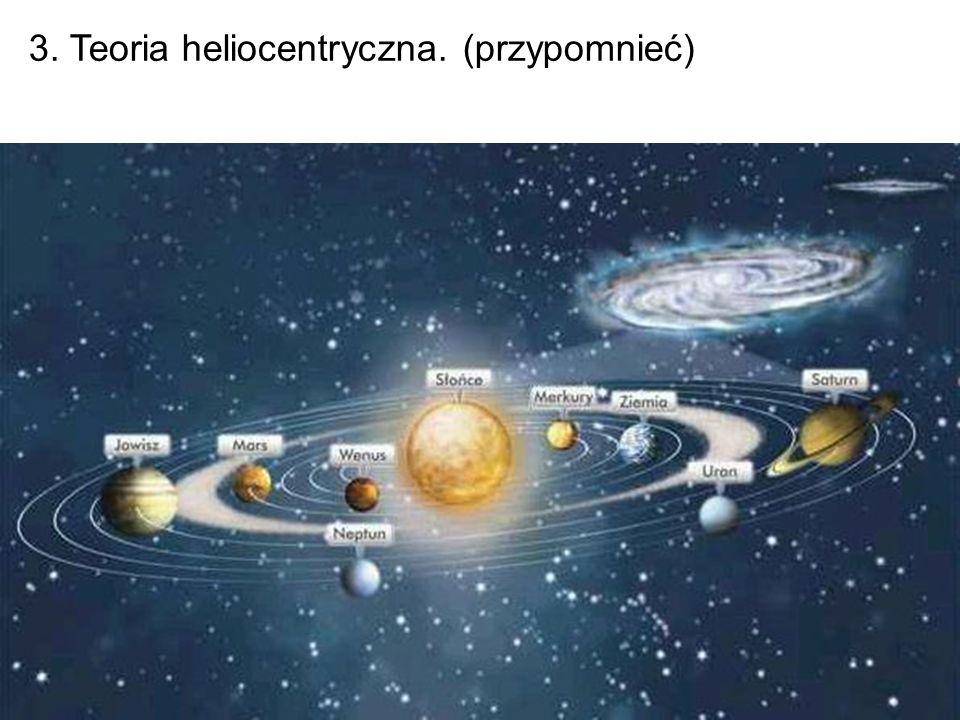 3. Teoria heliocentryczna. (przypomnieć)