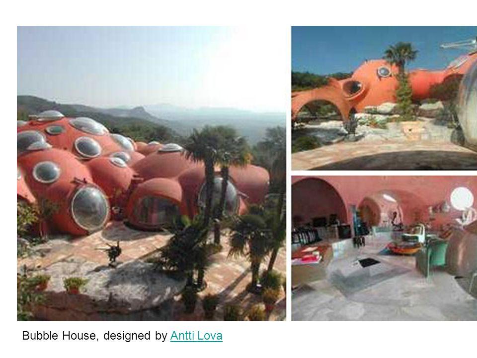 Bubble House, designed by Antti LovaAntti Lova
