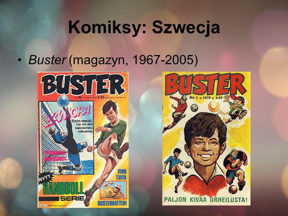 Komiksy: Szwecja Buster (magazyn, 1967-2005)