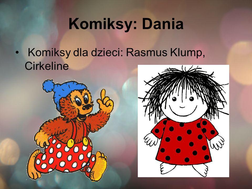 Komiksy: Dania Komiksy dla dzieci: Rasmus Klump, Cirkeline