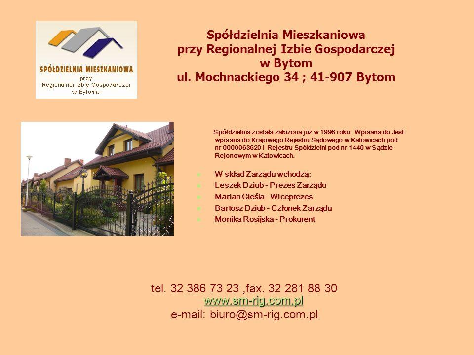 www.sm-rig.com.pl www.sm-rig.com.pl tel. 32 386 73 23,fax. 32 281 88 30 www.sm-rig.com.pl www.sm-rig.com.pl e-mail: biuro@sm-rig.com.pl Spółdzielnia M