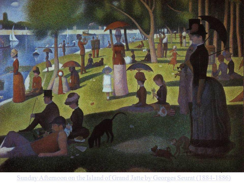 A.Wieczorkowska 9 Sumowanie przestrzenne Sunday Afternoon on the Island of Grand Jatte by Georges Seurat (1884-1886)