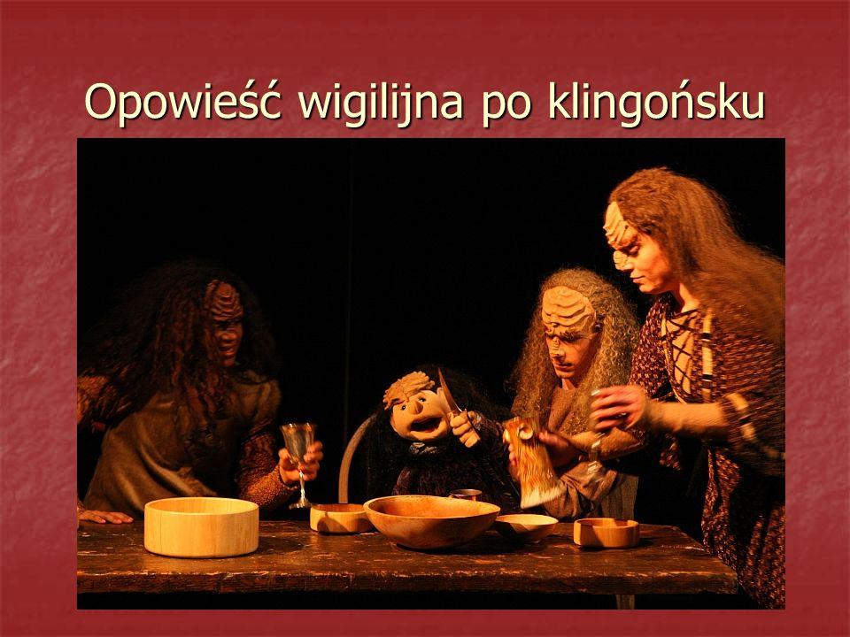 Opowieść wigilijna po klingońsku