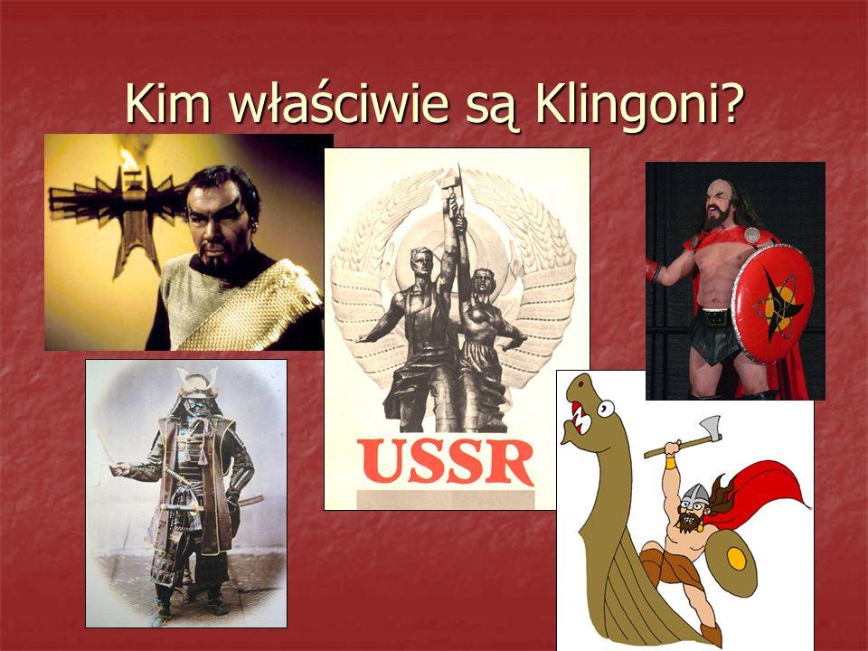 Kim właściwie są Klingoni?