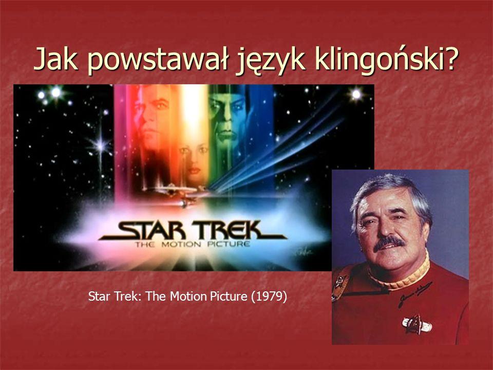 Jak powstawał język klingoński? Star Trek: The Motion Picture (1979)