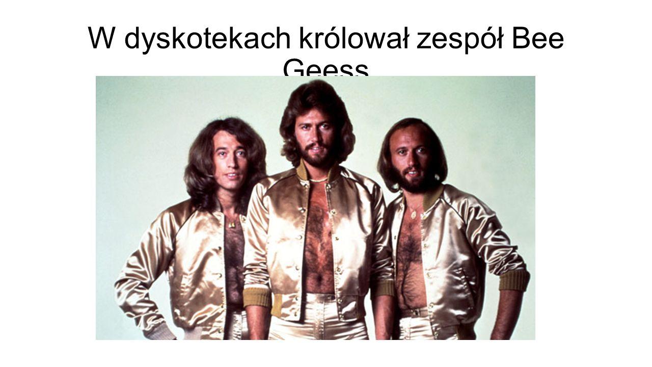 W dyskotekach królował zespół Bee Geess