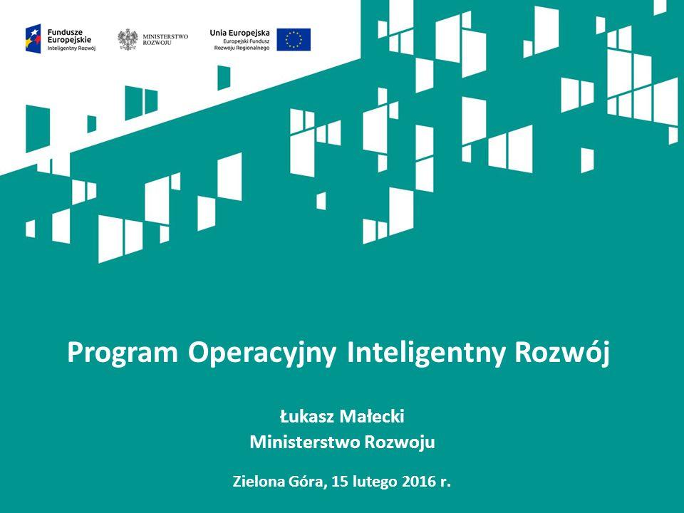 Wsparcie innowacyjności w latach 2014-2020 – założenia Co wymaga zmiany w polskiej nauce i przedsiębiorczości, aby możliwe było osiągnięcie większej konkurencyjności i innowacyjności polskiej gospodarki oraz zapewnienie jej większego udziału w gospodarce światowej.