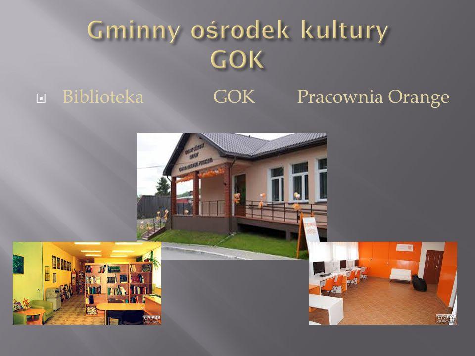  Biblioteka GOK Pracownia Orange