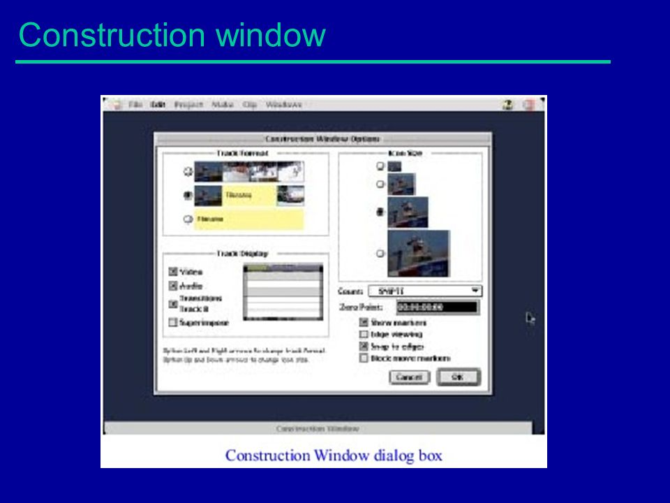 Construction window