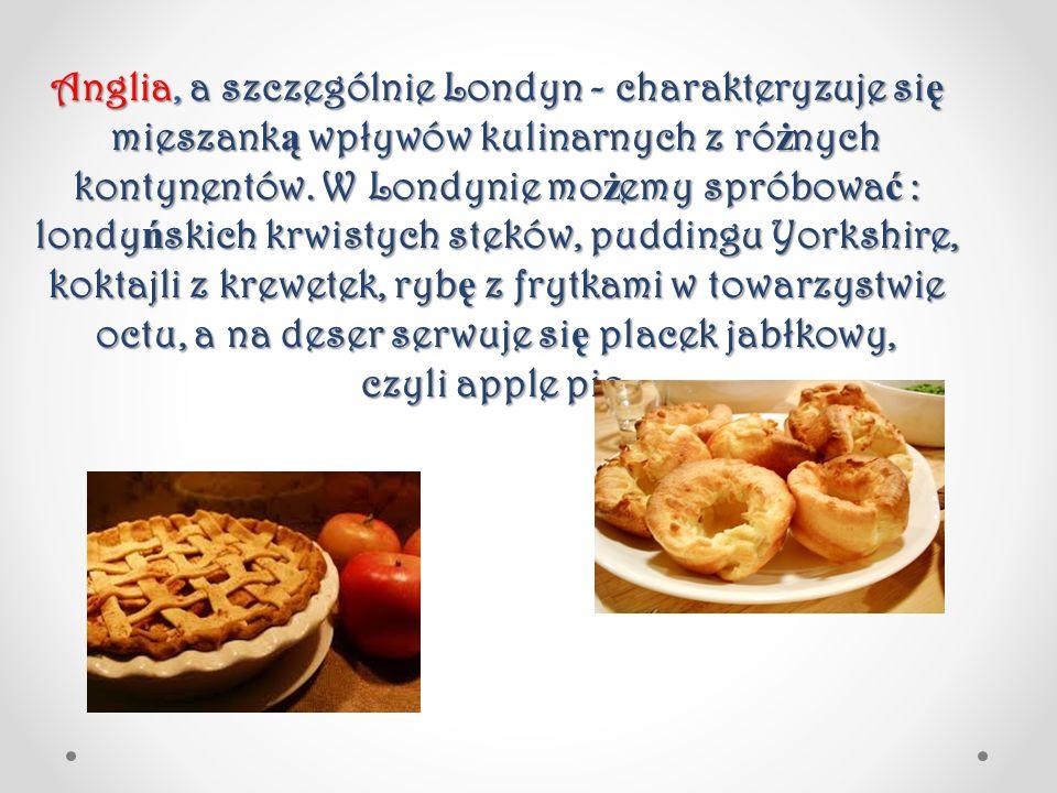 Jednym z ciekawszych deserów s ą puddingi czyli desery zawieraj ą ce chleb w składzie.