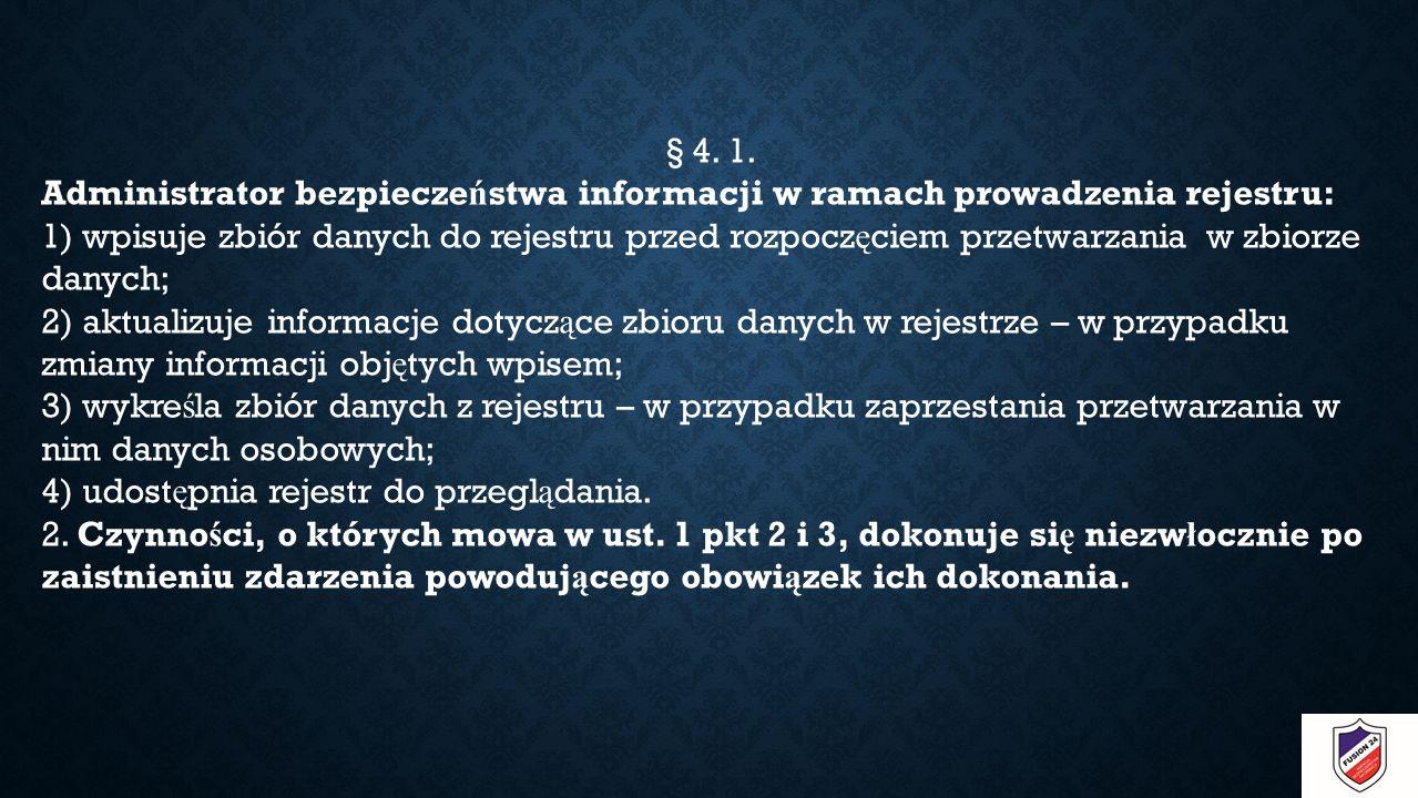 § 4. 1.