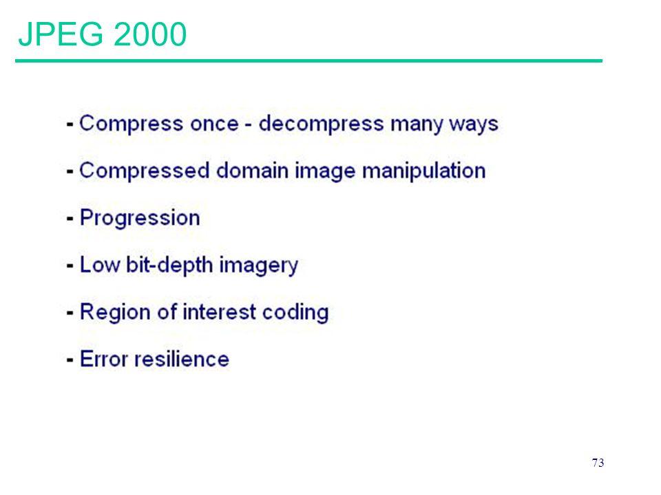 73 JPEG 2000