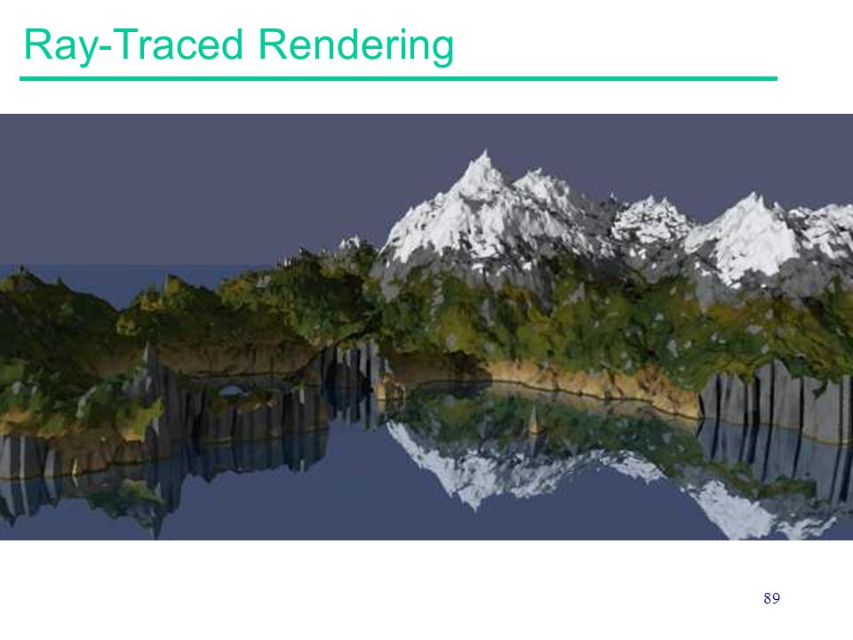 89 Ray-Traced Rendering