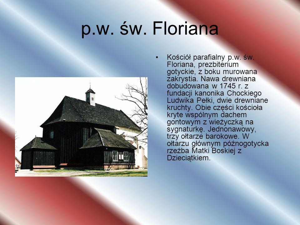 p.w. św. Floriana Kościół parafialny p.w. św.