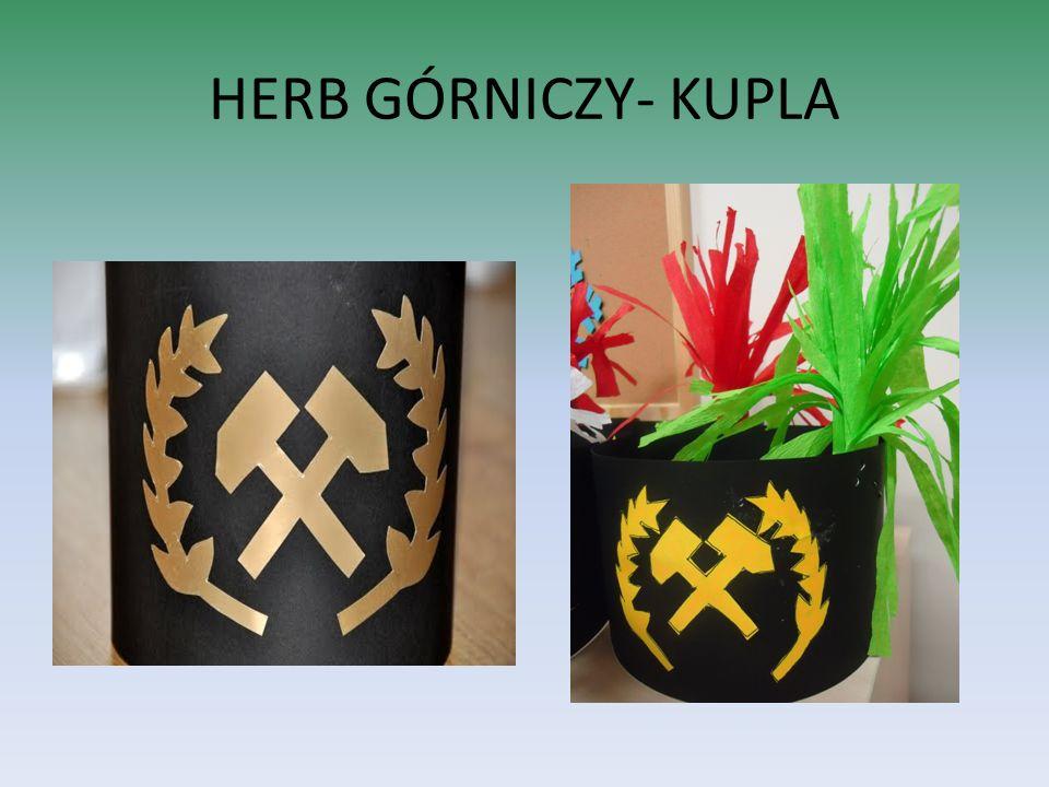 HERB GÓRNICZY- KUPLA