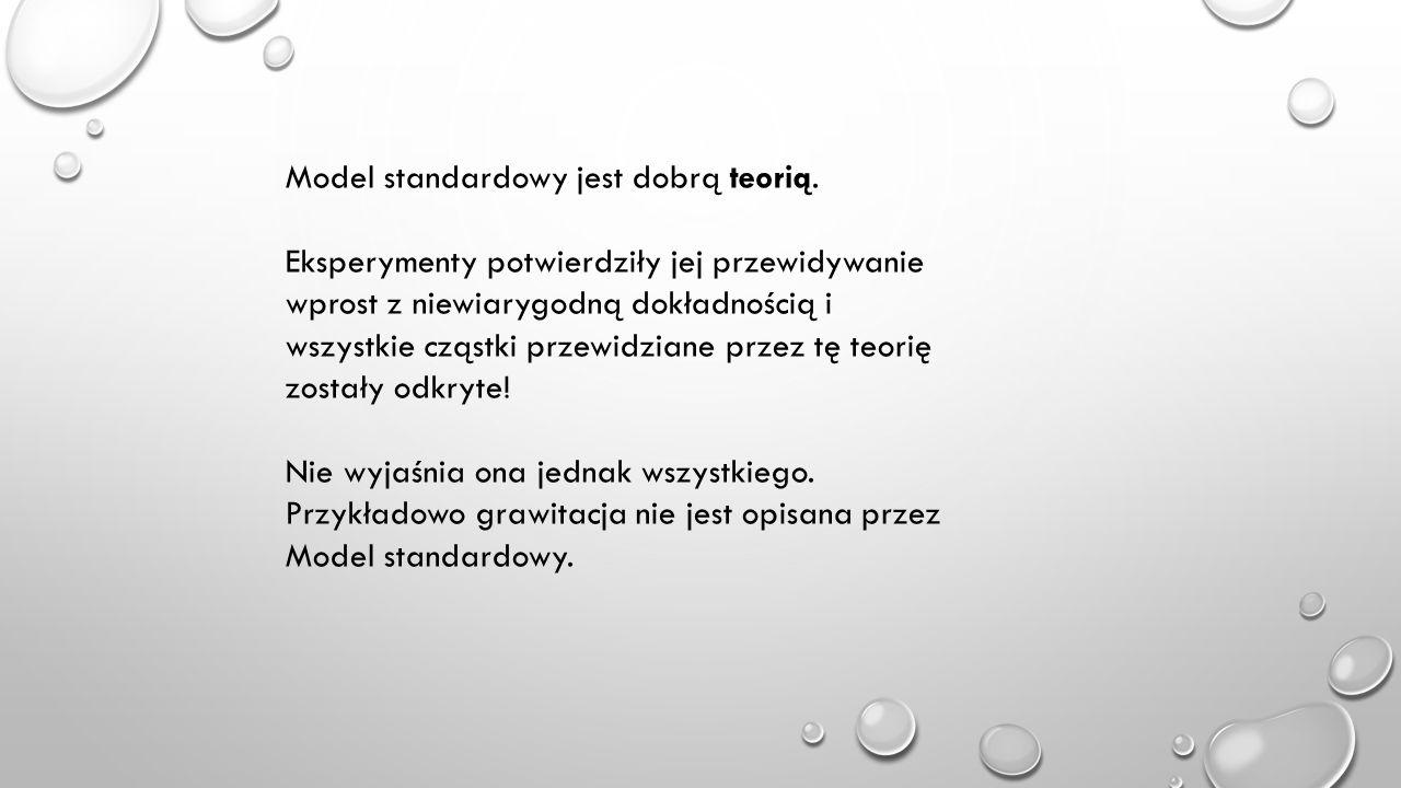 Model standardowy jest dobrą teorią.