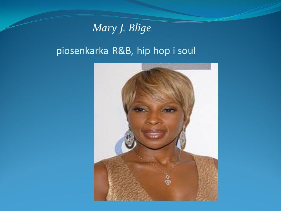 piosenkarka R&B, hip hop i soul Mary J. Blige