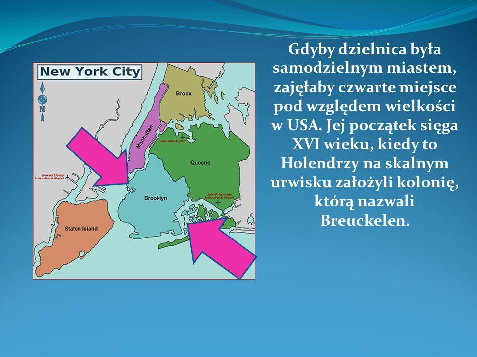 Gdyby dzielnica była samodzielnym miastem, zajęłaby czwarte miejsce pod względem wielkości w USA.