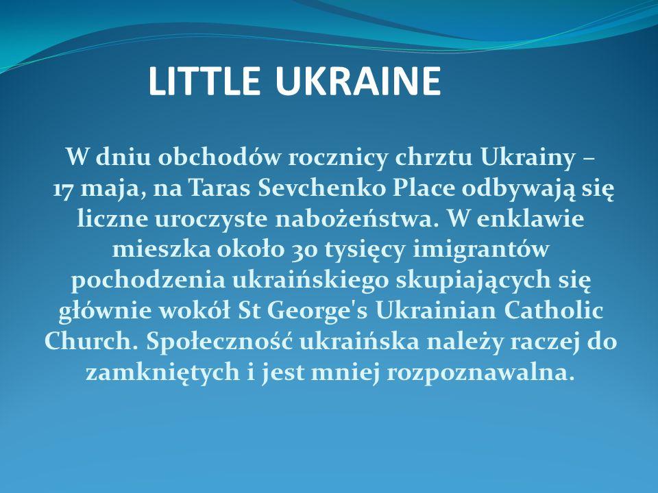 W dniu obchodów rocznicy chrztu Ukrainy – 17 maja, na Taras Sevchenko Place odbywają się liczne uroczyste nabożeństwa.
