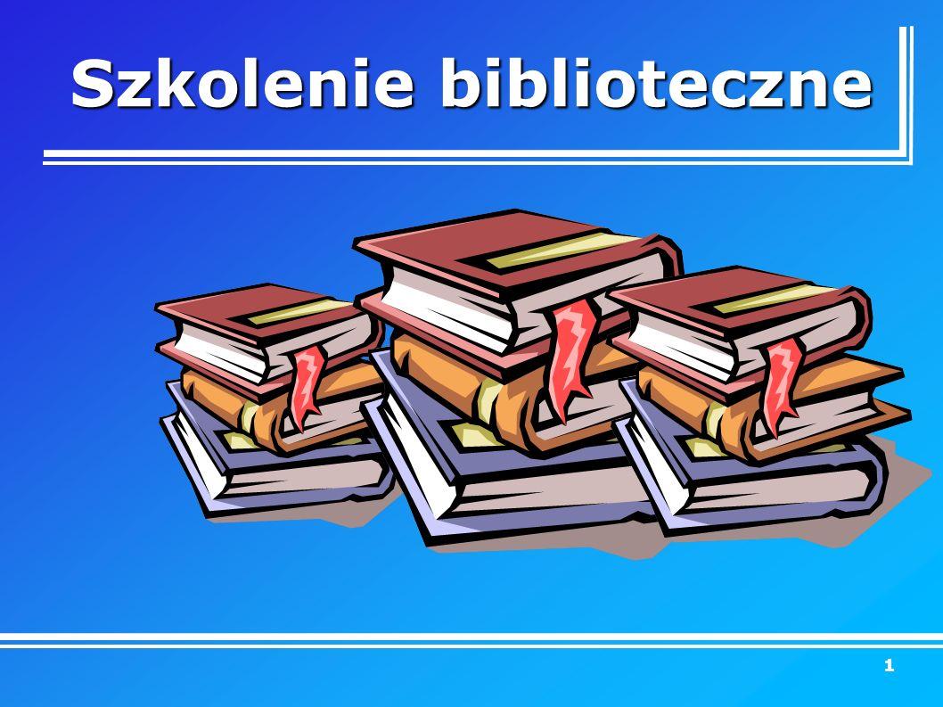 Szkolenie biblioteczne 1