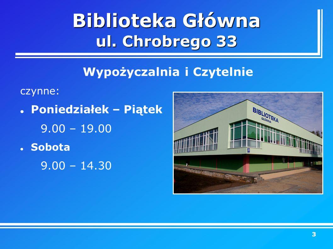 Biblioteka Główna ul.