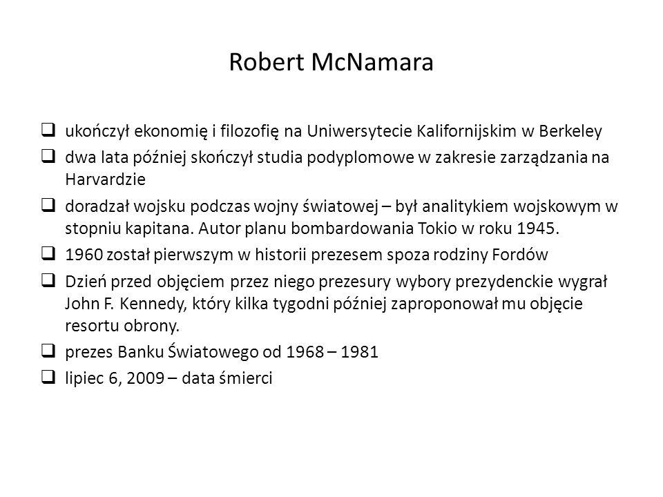  ukończył ekonomię i filozofię na Uniwersytecie Kalifornijskim w Berkeley  dwa lata później skończył studia podyplomowe w zakresie zarządzania na Harvardzie  doradzał wojsku podczas wojny światowej – był analitykiem wojskowym w stopniu kapitana.
