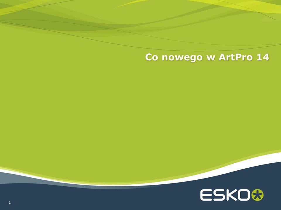 1 Co nowego w ArtPro 14