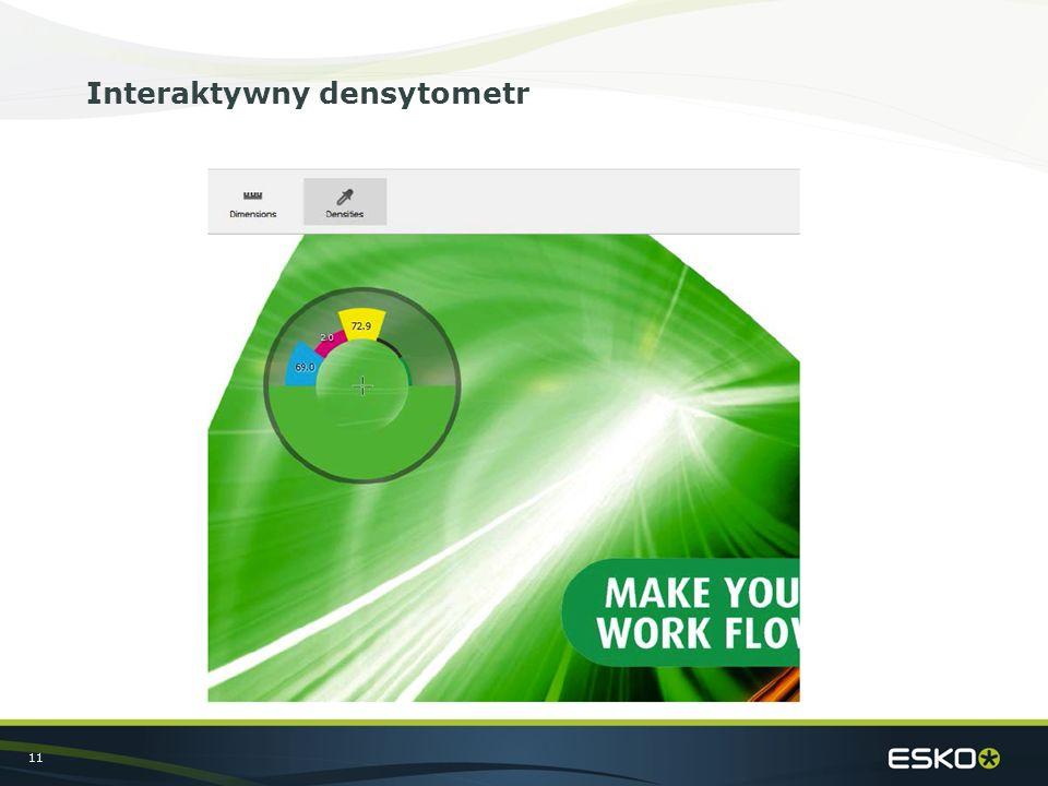 11 Interaktywny densytometr