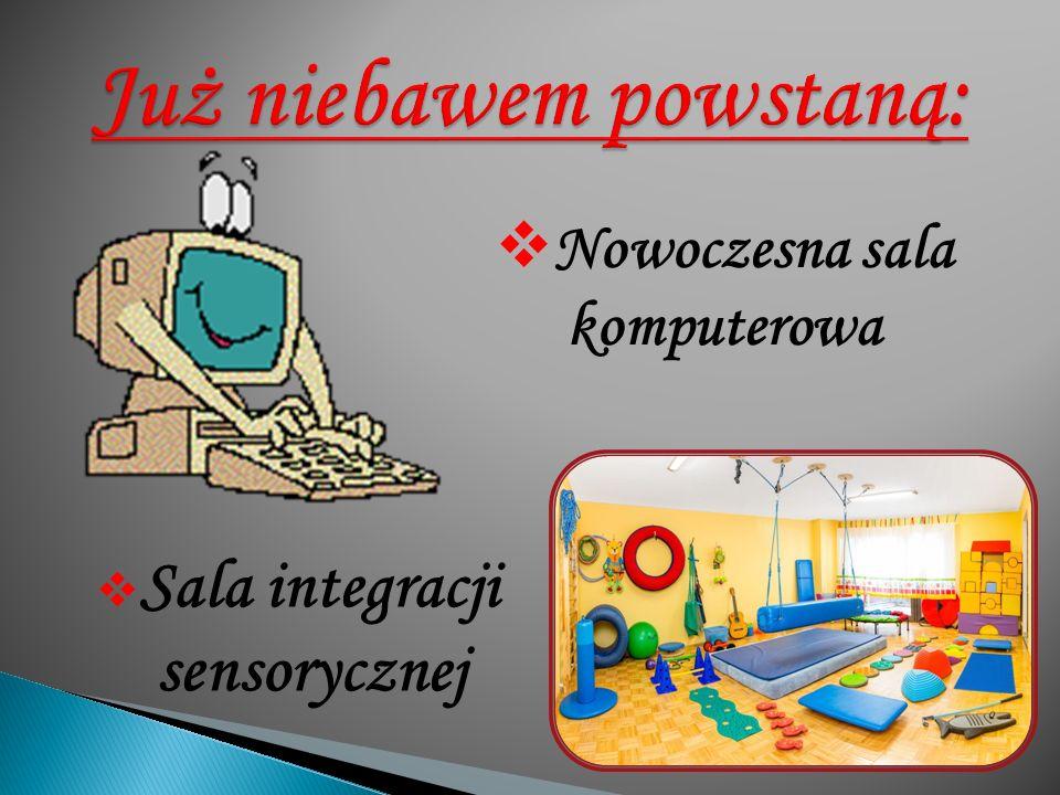  Sala integracji sensorycznej  Nowoczesna sala komputerowa