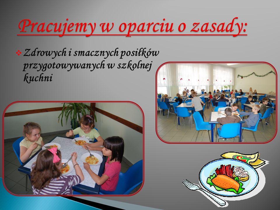  Zdrowych i smacznych posiłków przygotowywanych w szkolnej kuchni