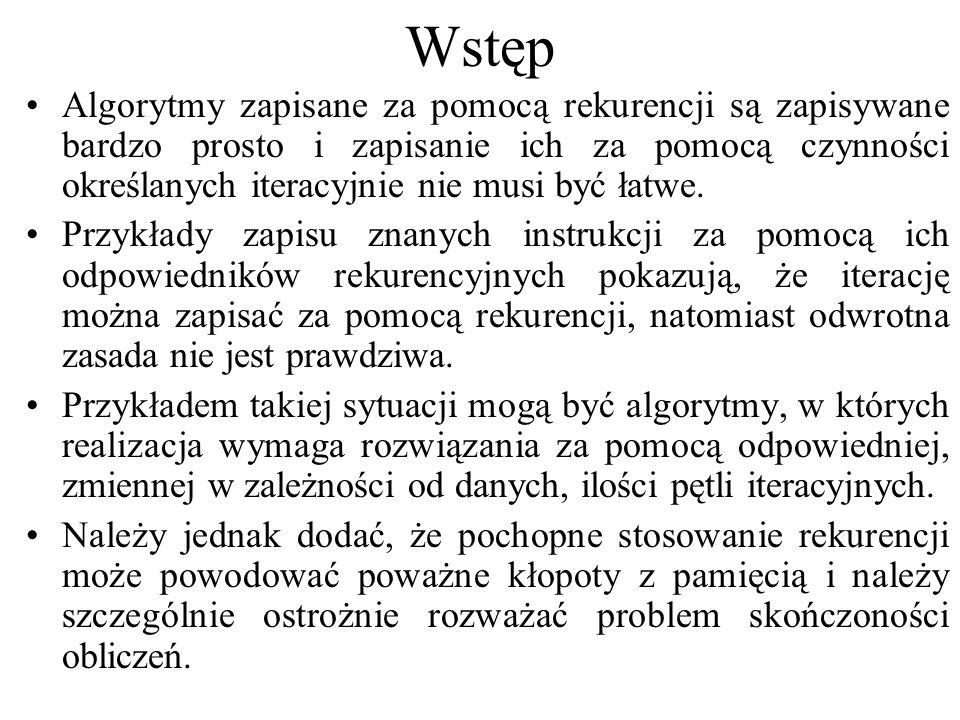 Wstęp - rola stopu Np.