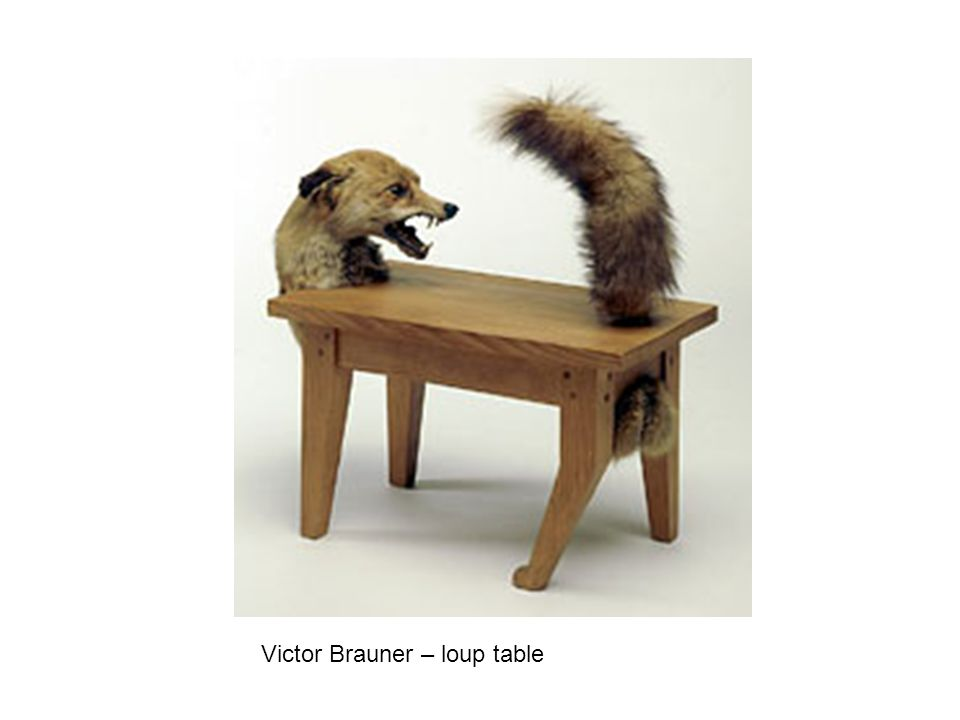 Victor Brauner – loup table