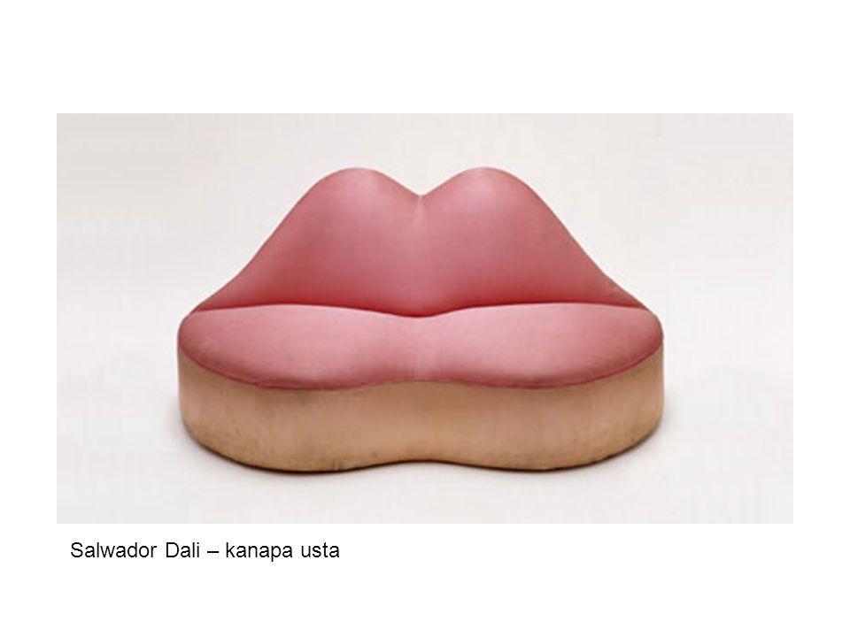 Salwador Dali – kanapa usta