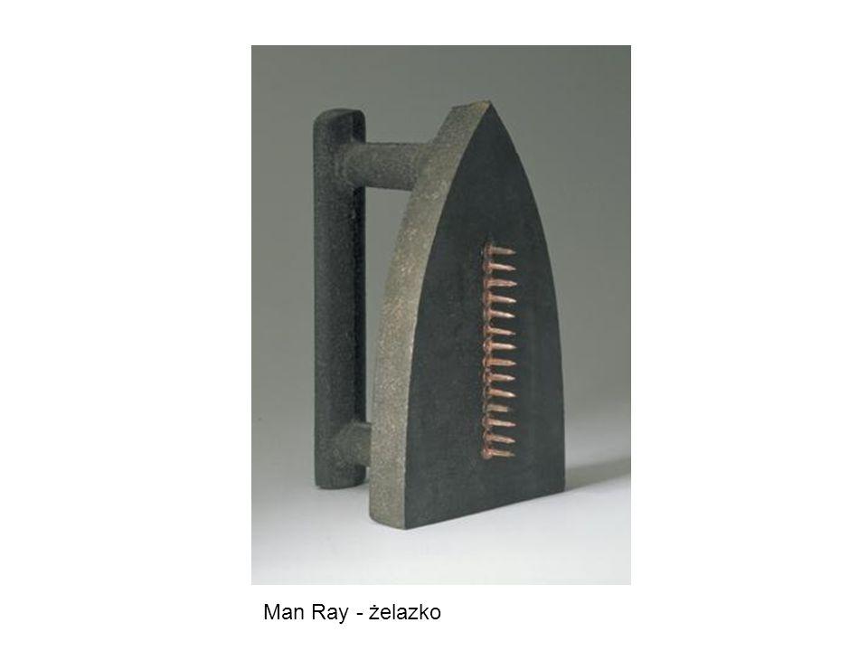 Man Ray - żelazko