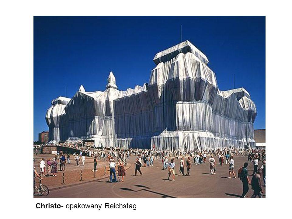 Christo- opakowany Reichstag