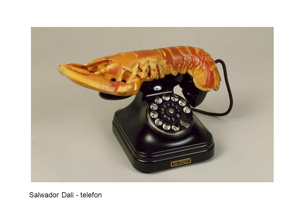 Salwador Dali - telefon