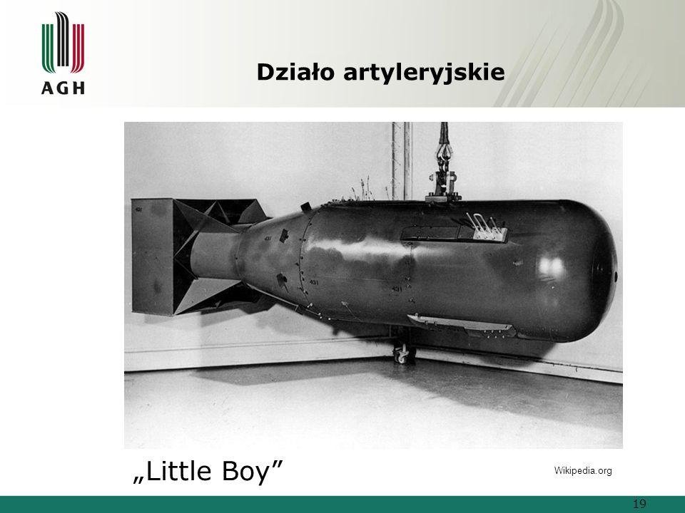 """Działo artyleryjskie """"Little Boy Wikipedia.org 19"""