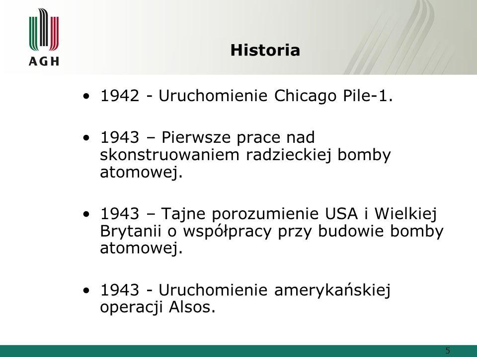 Historia 1942 - Uruchomienie Chicago Pile-1.